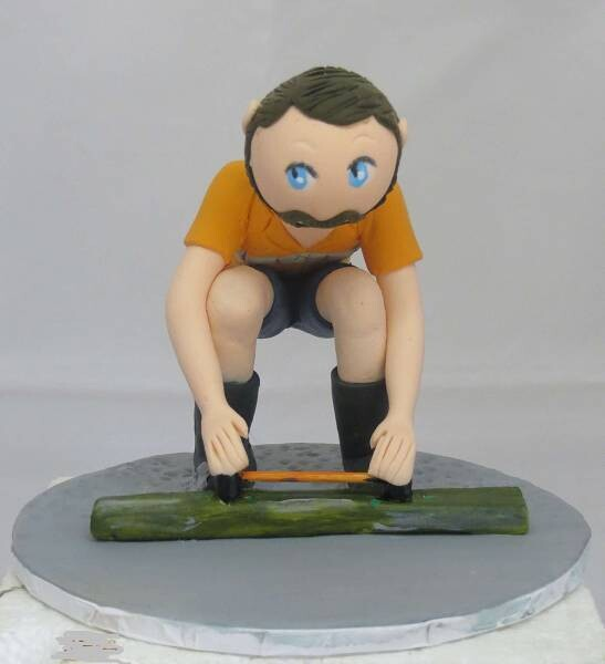Special Occasion Toppers Single Male Figurine Different pose