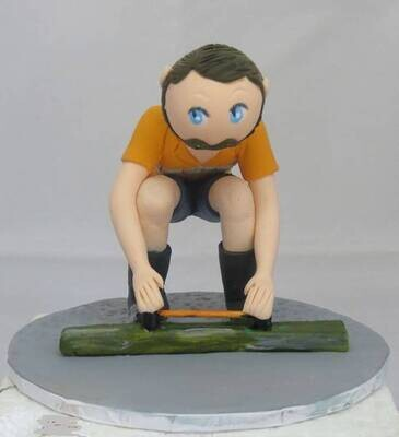Single Male Figurine - Different pose
