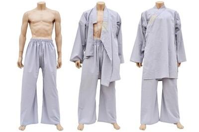 Shaolin Gray Uniform