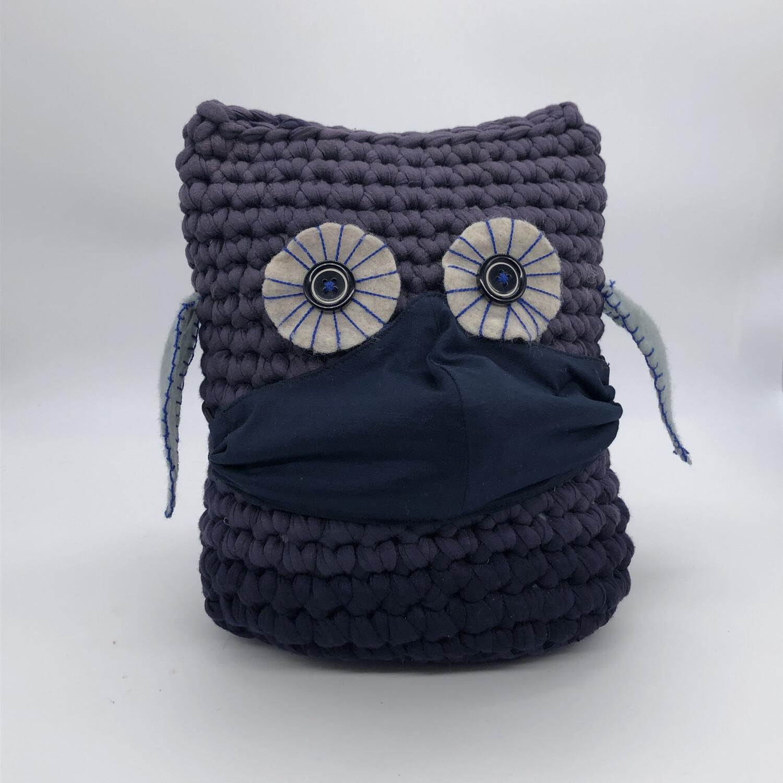 MNS (Mund-Nasen-Schutz Maske) - dunkelblau