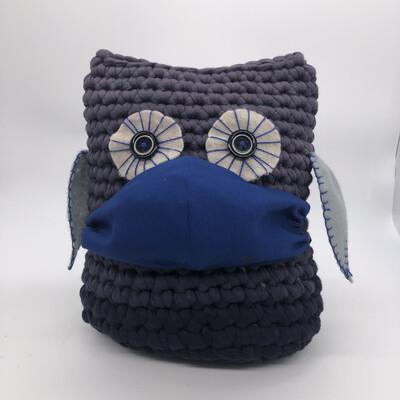 MNS (Mund-Nasen-Schutz Maske) - blau
