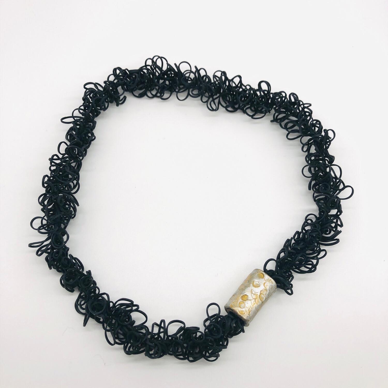 Halskette Kautschukschlingen mit großer