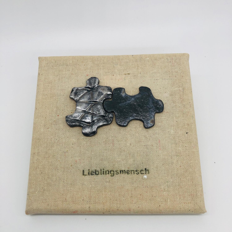 """Bild Puzzleteile """"Lieblingsmensch"""""""
