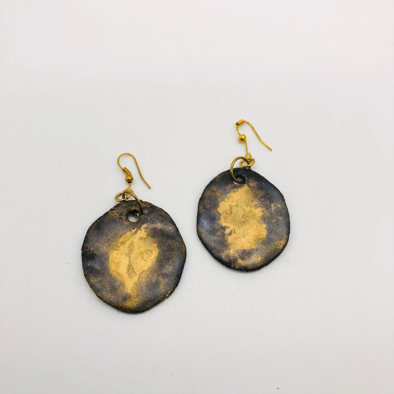 Ohrhänger Keramik - beidseitig tragbar
