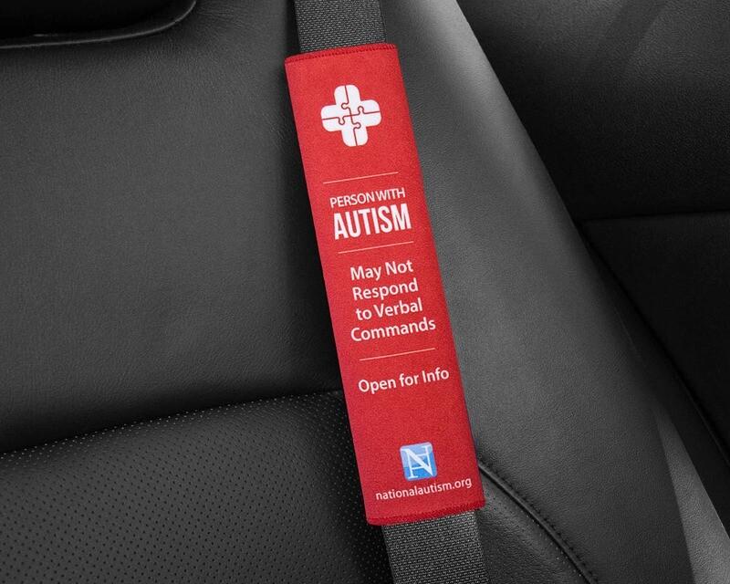Help Belt - Safety Alert Seat Belt Cover
