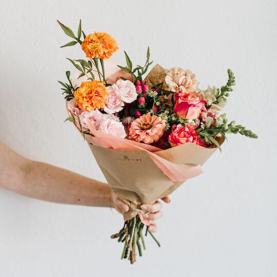 Love Wrapped Bouquet