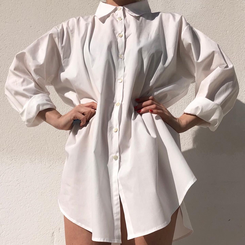 Camicia over Bianco