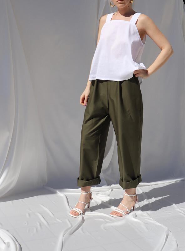 Pantalone morbido - Militare