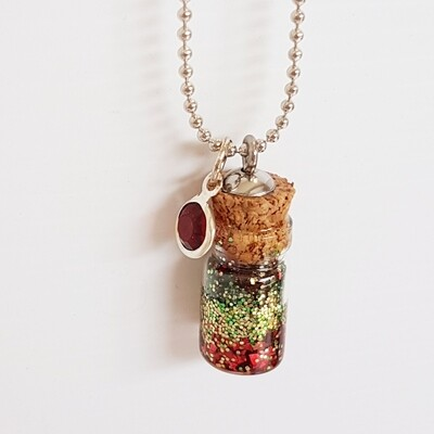 Red Elf Dust Necklace