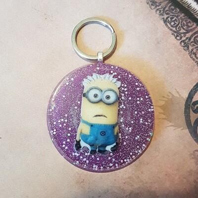 Minion Key Ring, Bag Tag