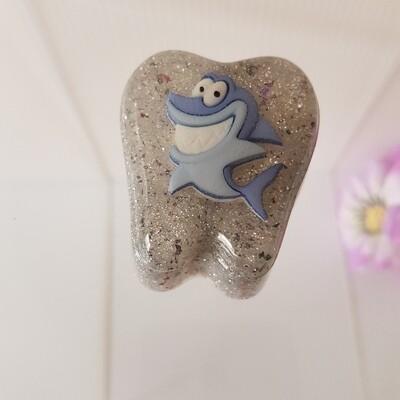 Smiley Shark  Tooth Fairy Box