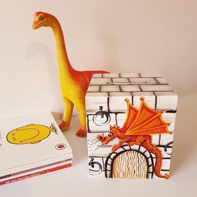Dragon Wooden Money Box