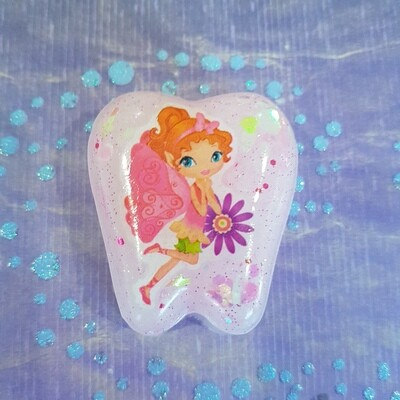 Pink Fairy Tooth Fairy Box