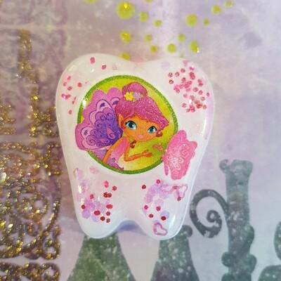 Purple Fairy Tooth Fairy Box