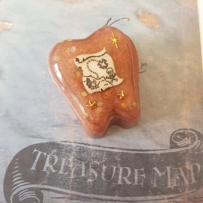 Pirate Treasure Map Tooth Fairy Box
