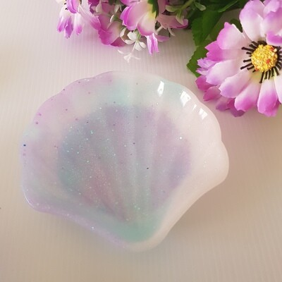 Pastel Shell Jewellery Dish