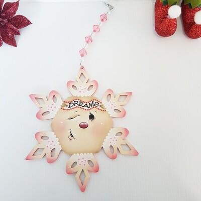 Dreams Snowflake Ornament