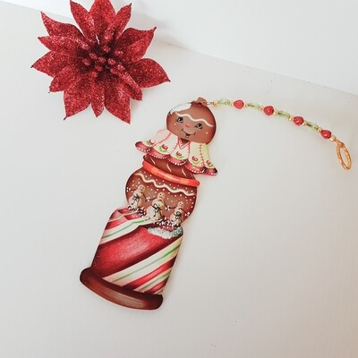 Christmas Ornament Gingerbread Man