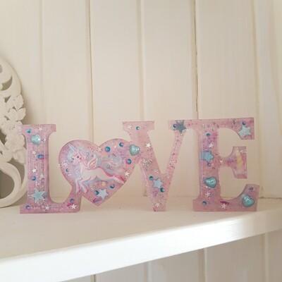 Unicorn Love Sign