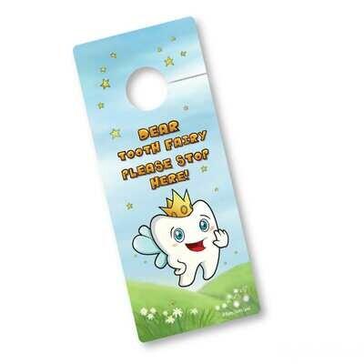 Tooth Fairy Door Hanger - Tooth
