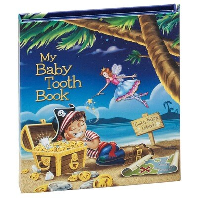 My Baby Tooth Flap Book - Pirate Boy