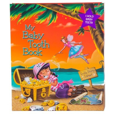 My Baby Tooth Flap Book - Pirate Girl
