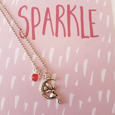 Tooth Fairy Necklace - Pink