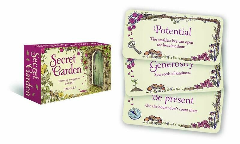 Secret Garden Cards - by Jessica Le