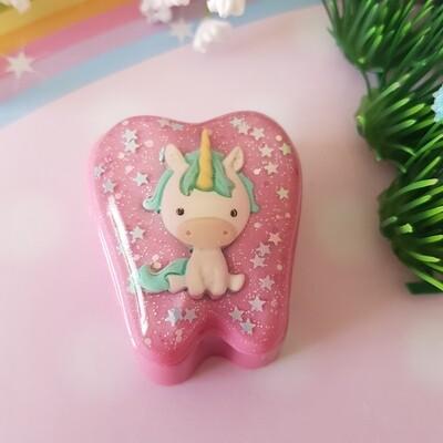 Pink Unicorn Tooth Fairy Box