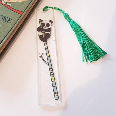 Panda Resin Bookmark