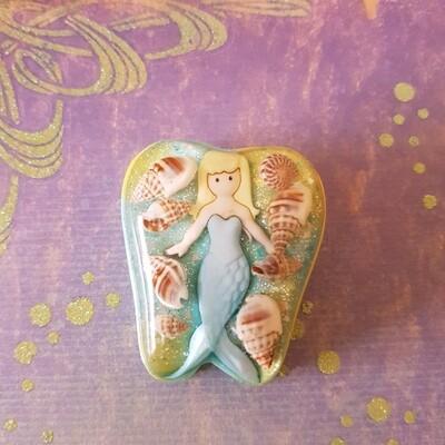 Mermaid Shell Tooth Fairy Box