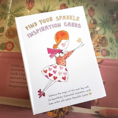 Find Your Sparkle Inspiration Cards - Meredith Gaston