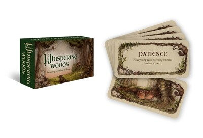 WHISPERING WOODS Inspiration Cards by Jessica Le