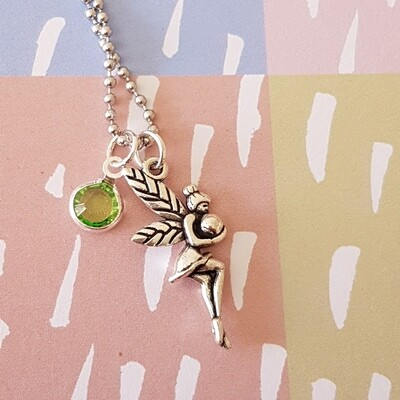 Green Tooth Fairy Necklace