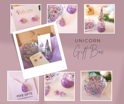 Purple Unicorn Gift Box Hamper