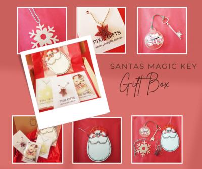 Santa's Magic Key Gift Box
