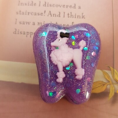 Poodle Dog Tooth Fairy Box