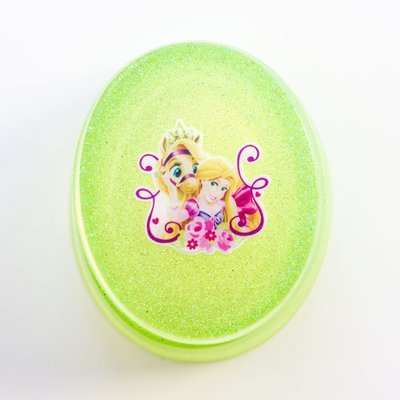 Jewellery Box Oval - Rapunzel Green