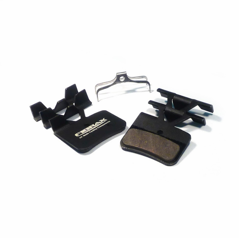 SHIMANO Saint / Zee M810 / M820 / XTR M9120 - Semi-Metallic FINNED Disc Brake Pad