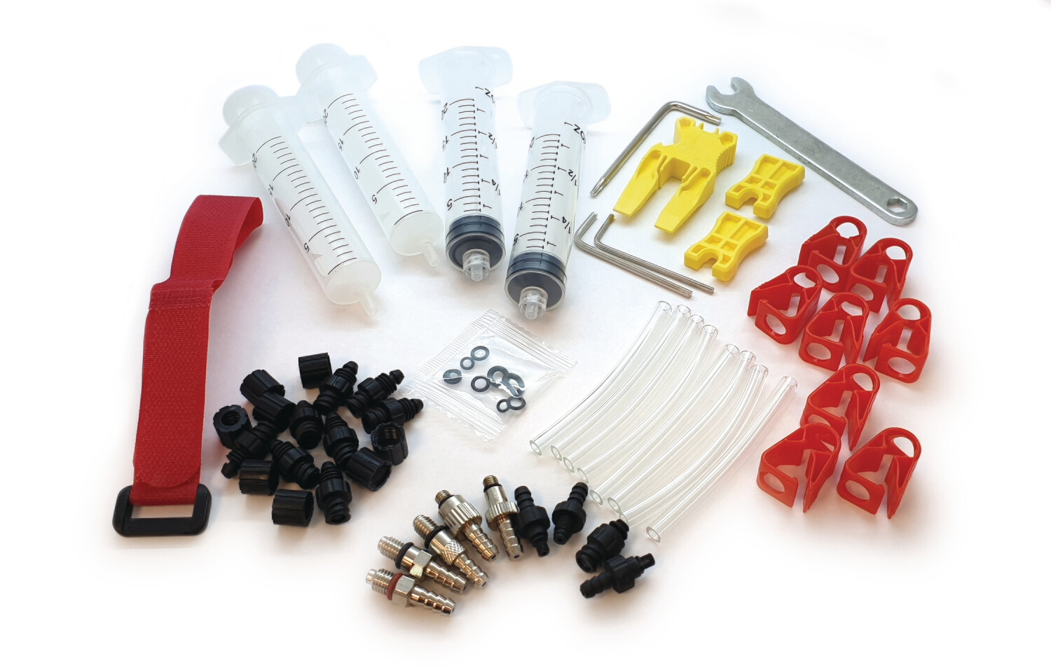 Mineral Oil - Pro Bleed Kit Suitable for Tektro, Shimano, Magura, Giant, Bengal, Hayes, Zoom, Alhonga