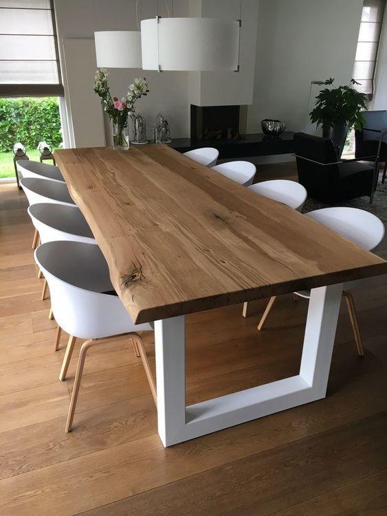 Design Esstisch KATRIN aus Massivholz