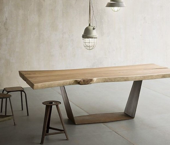 Design Esstisch KOMO aus Massivholz