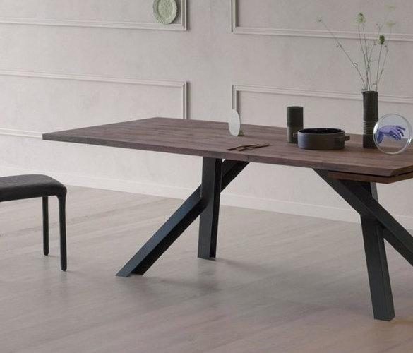 Design Esstisch TWINS aus Massivholz