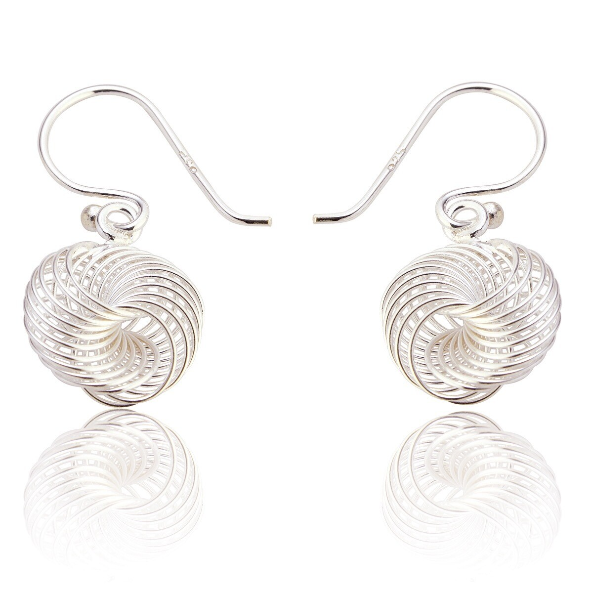 Contemporary Drop Earrings