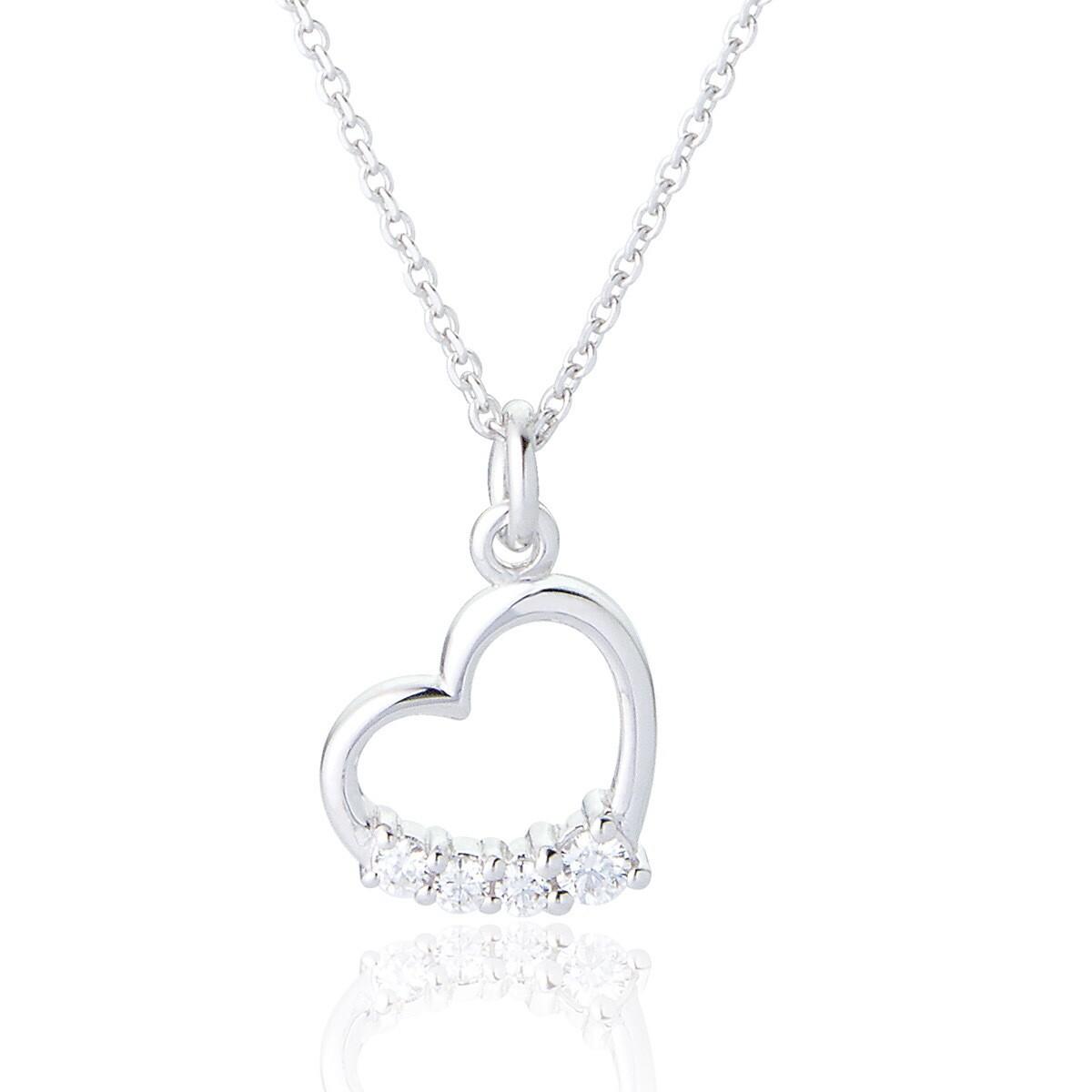 Ettie Heart Pendant & Chain