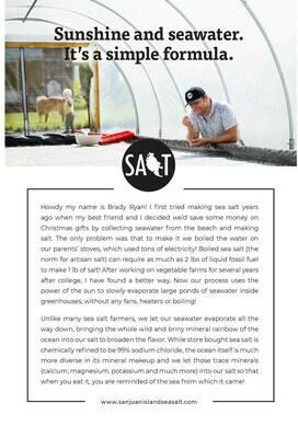 Salt Story Card (FREE)