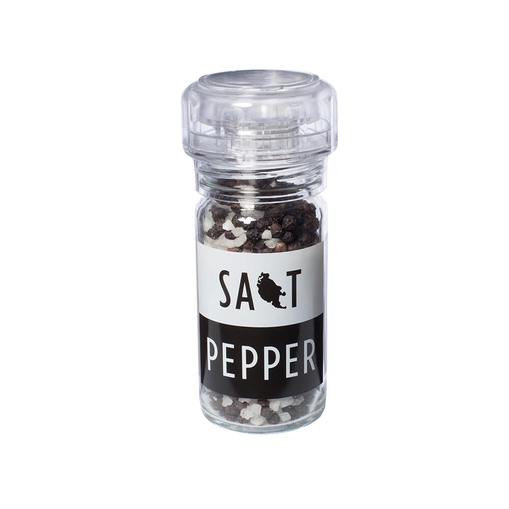 Organic Pepper Salt Grinder