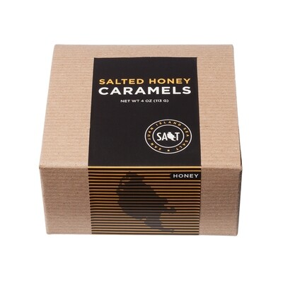 Salted Honey Caramels