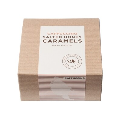 Cappucino Salted Honey Caramels