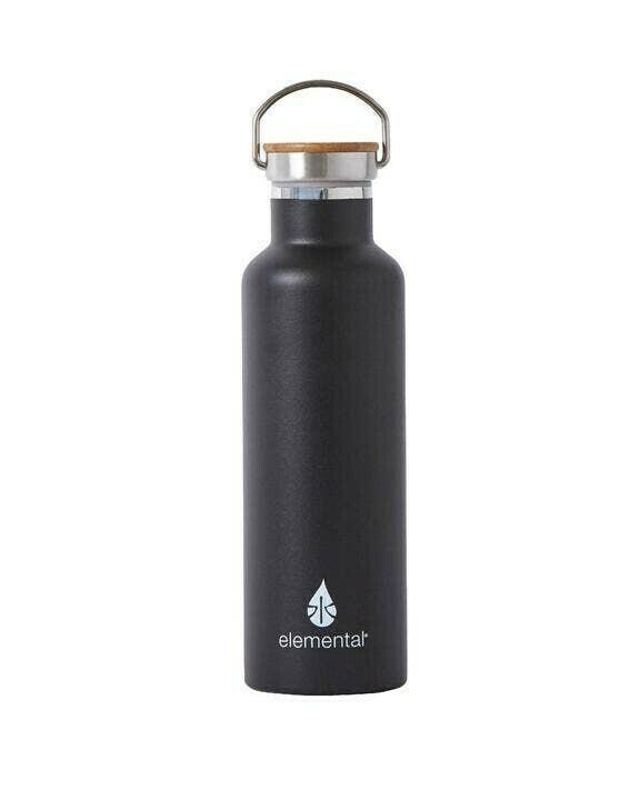 Matte Stainless Water Bottle - Black